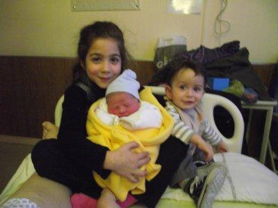 notre fils Sulivan est né