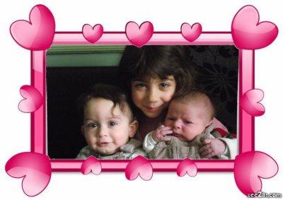 mes trois amours que j'aime
