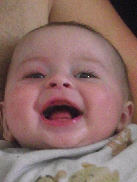 mon fils sulivan c mr sourire lol