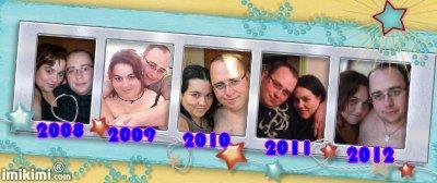 mon homme et moi depuis qu on est ensemble
