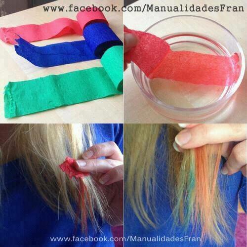 colorer ses cheveux - Coloration Cheveux A La Craie