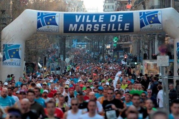 Marathon, Semi-marathon et 10km de Marseille, Vichy et Hyéres