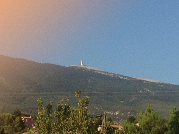 L'ascension du Mont Ventoux...