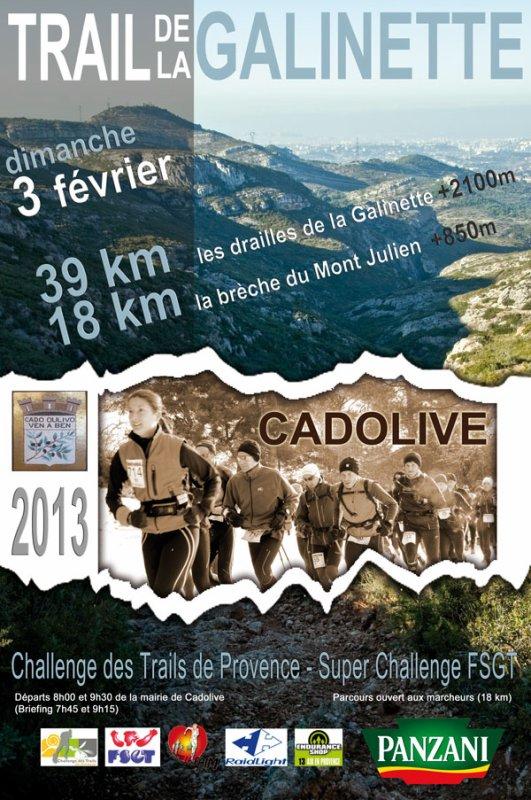 Trail De La Galinette à Cadolive