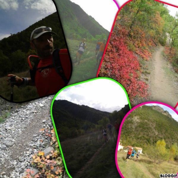LES TRAILS DU COUSSON à DIGNE LES BAINS  Département des Alpes  De Haute Provence