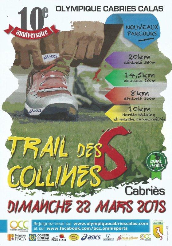 TRAIL DES 6 COLLINES à CABRIES