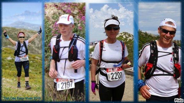 LE TRAIL DES EAUX VIVES VENDREDI 8 MAI 13 km et 23 km