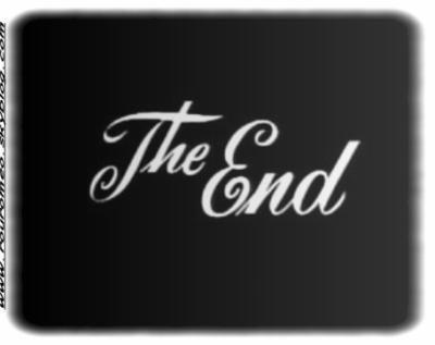 Tout à une fin!