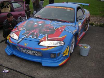 Voiture tuning spider man dx revolution - Spiderman voiture ...