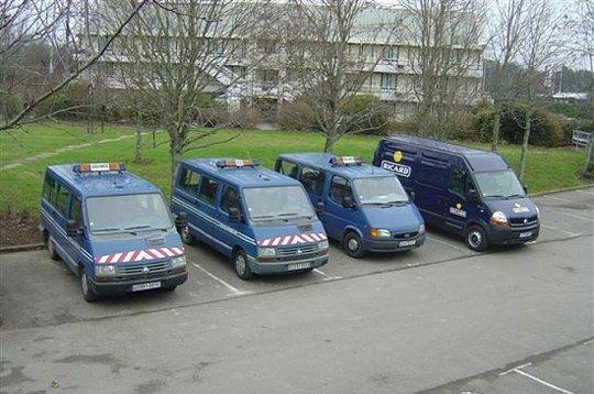 Ricard vol au secours de la Gendarmerie