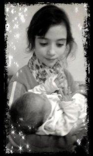 ma petite soeur angelique et ma petite cousine maelle