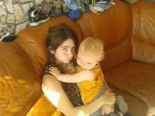 moi et mon petit frere