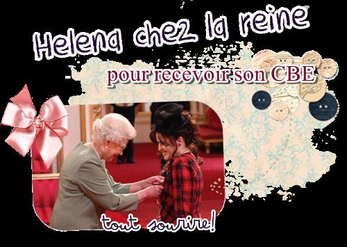 22/02/2012 Dites bonjour à la commandante Helena Bonham Carter!