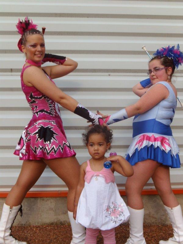 mes deux fille et une amie