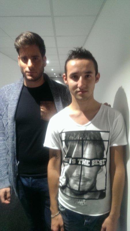 Moi et Zarko au mag de ntj12 :)