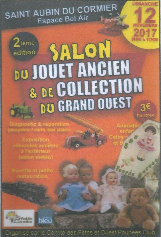 2ème Salon du jouet ancien et de la poupée St Aubin du Cormier (35)