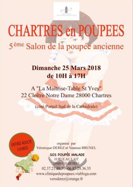 Chartres en Poupées 2018 5ème Salon de la Poupée Ancienne