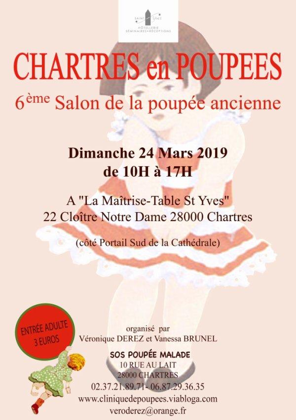 Chartres en Poupées 2019 6ème Salon de la Poupée ancienne