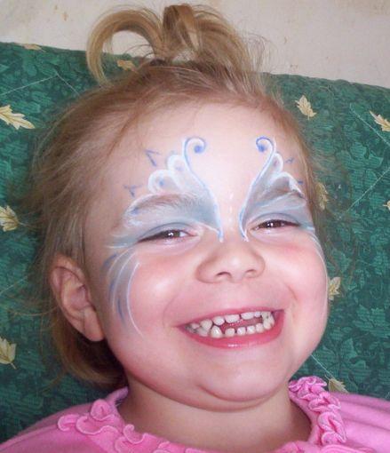 MAQUILLAGE 2 (Papillon bleu enfant)