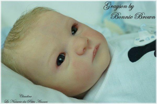 GRAYSON DE BONNIE BROWN , ADOPTE SUR EBAY