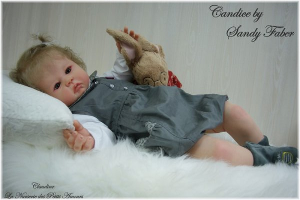 PROTOTYPE TODDLER , CANDICE DE SANDY FABER , ADOPTEE