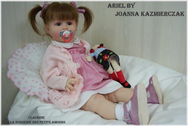 NOUVEAU TODDLER : ARIEL DE JOANNA KAZMIERCZAK ADOPTEE ( ITALIE )
