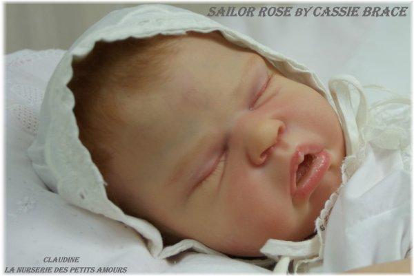 SAILOR ROSE DE CASSIE BRACE , ADOPTEE ( USA )