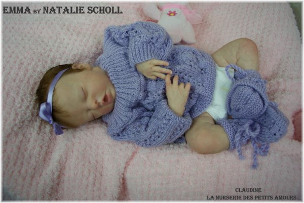 EMMA DE NATALIE SCHOLL , N° 127/200 , ADOPTEE