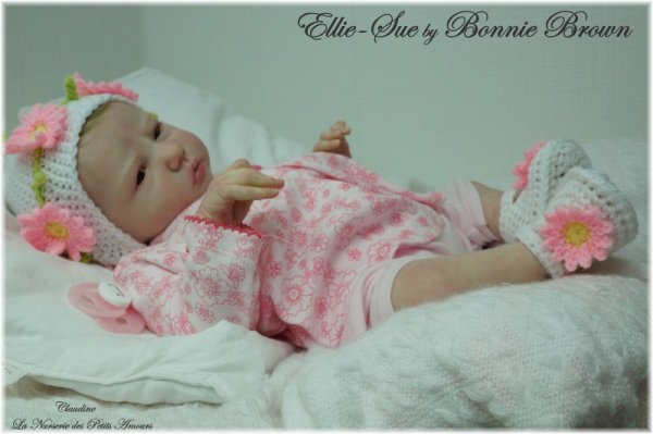 ELLIE SUE DE BONNIE BROWN , ADOPTEE ( ESPAGNE )