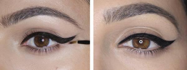 En fait, le rien classique akthrgazebet femmes look avec l'eyeliner ailé