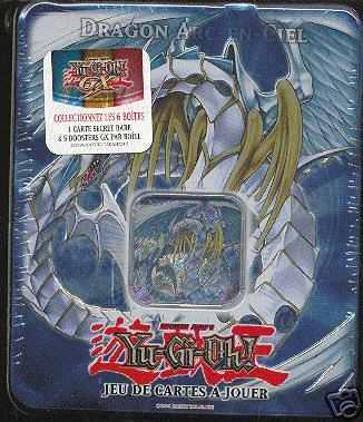 Tin box 2 me vague dragon arc en ciel cartes yu gi oh - Dragon arc en ciel ...
