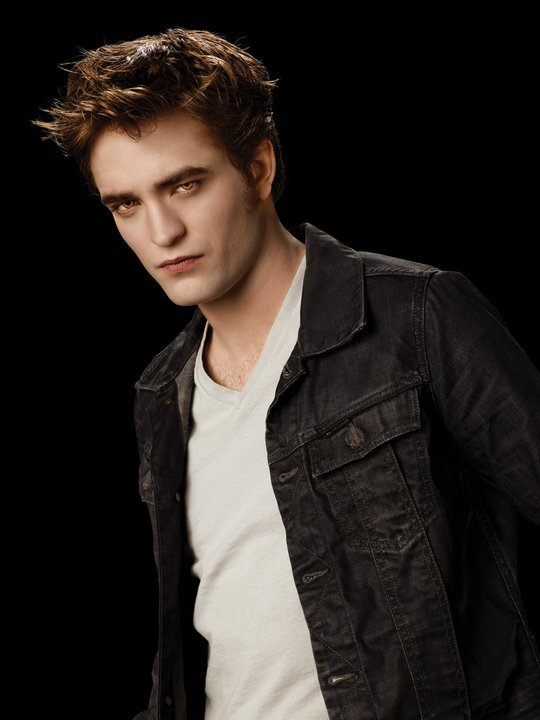 Edward Cullen = Robert  Pattinson