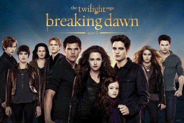 Dernier Volet de la Saga Twilight !!