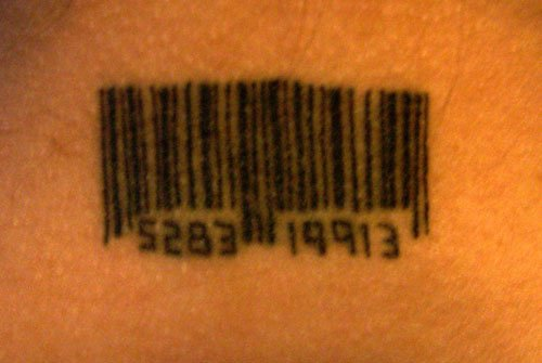 mon tatouage ...