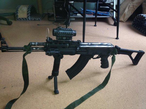 AK 47 custom du soldat romain G-T-A-S