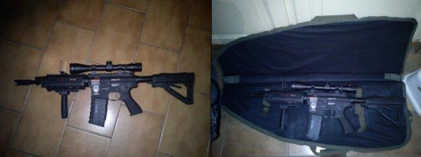 gr4 g26 G&G blowback de thony soldat G-T-A-S