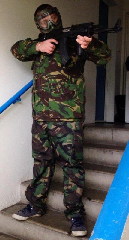 Nouvelle tenue de romain soldat G-T-A-S
