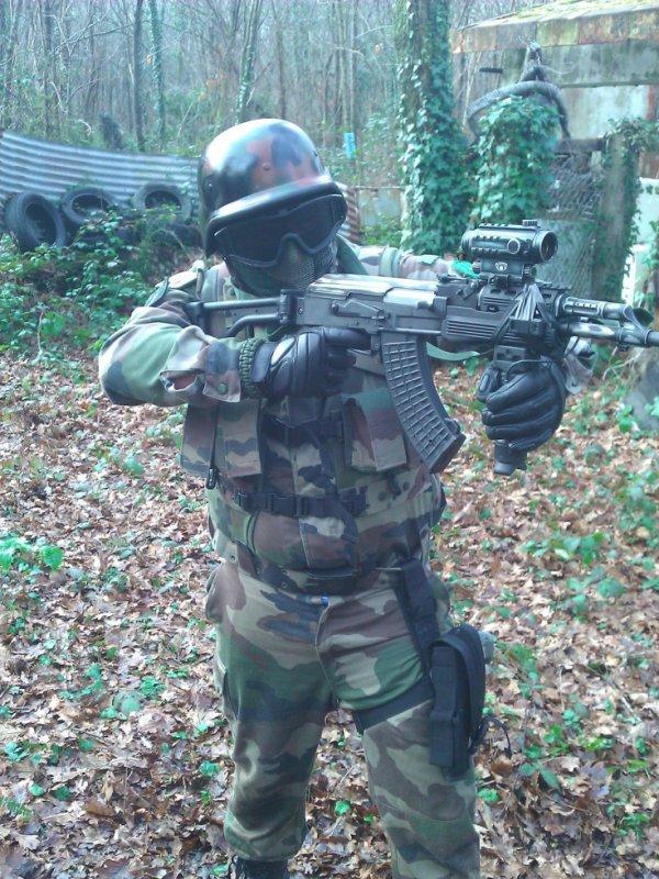 Romain soldat G-T-A-S