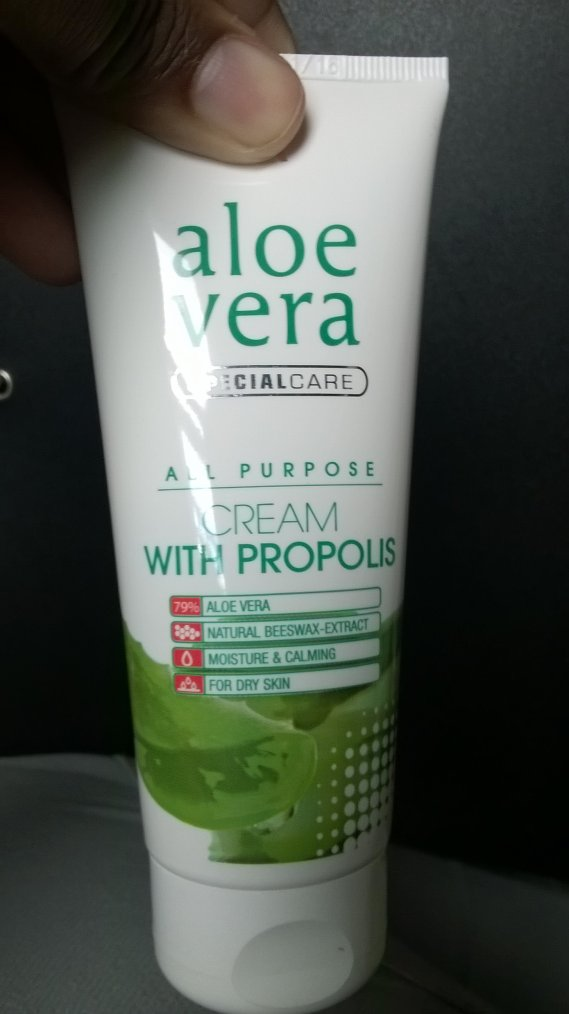 Aloe Vera cream with propolis