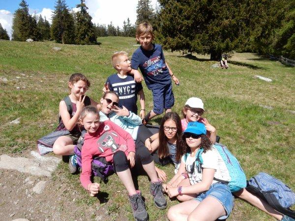 Randonnée dans les montagnes suisses