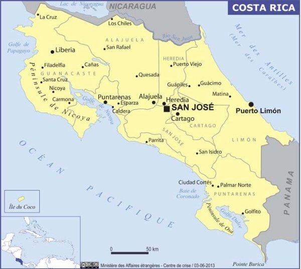 Le Costa Rica: Présentation du Pays