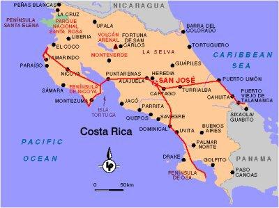 Le Costa Rica en quelques chiffres