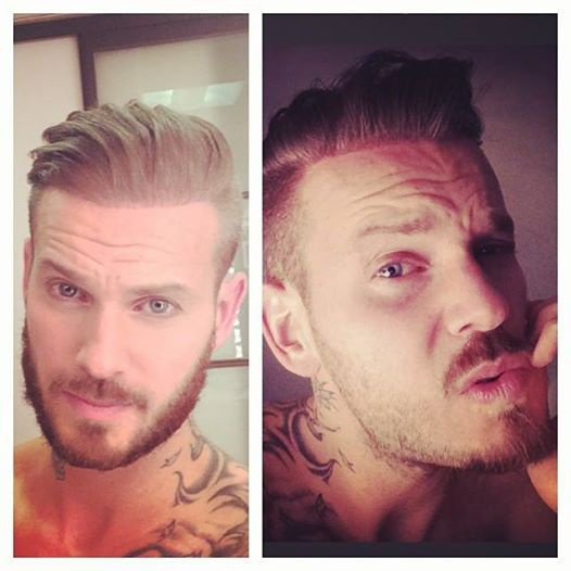 "M Pokora : ""Barbe out! (Pour le moment...) """