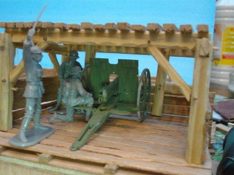construction d une tranchée allemande 1914.1918
