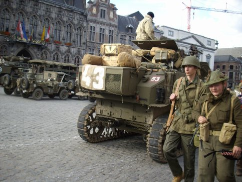 TANKS IN TOWN