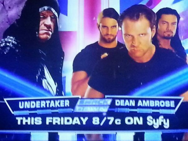 Dean Ambrose vs The Undertaker