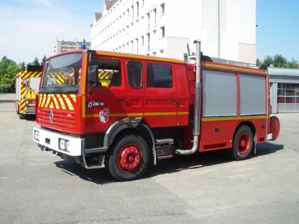Le premier FPT 2000/15 mis en service dans le département de l'Aube.