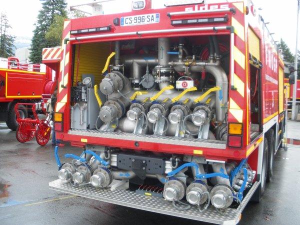 Congrès national des sapeurs-pompiers de FRANCE à CHAMBERY : Les FMOGP.