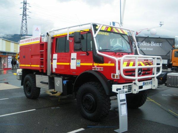 Congrès national des sapeurs-pompiers de FRANCE à CHAMBERY : Les CCF.