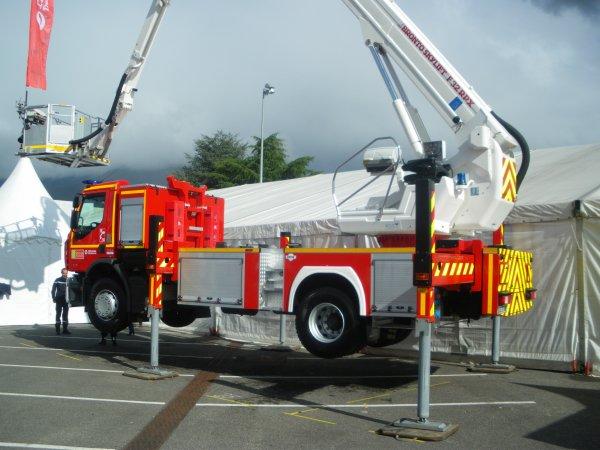 Congrès National des Sapeurs-pompiers à CHAMBERY : les Echelles et BEA.